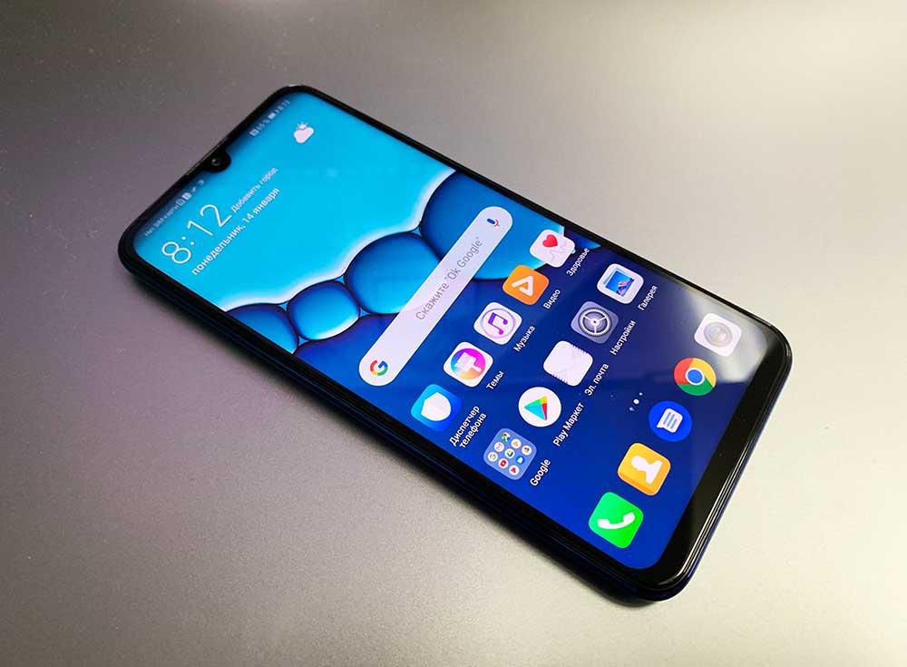 Huawei P Smart 2019 синий