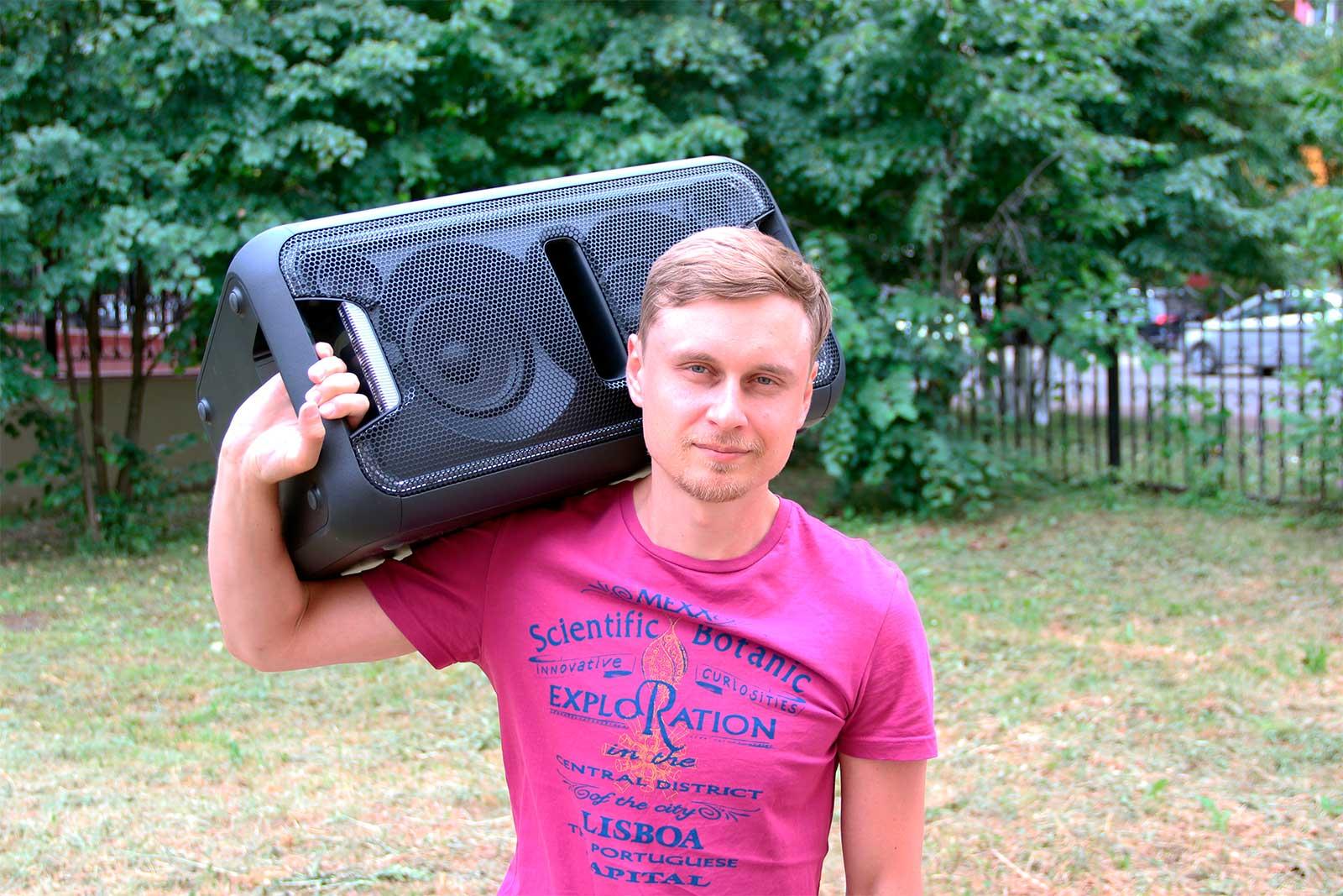 Беспроводная портативная колонка Sony GTK-XB7