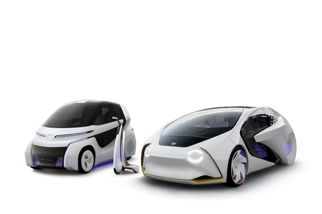 Линейка Toyota Concept-i