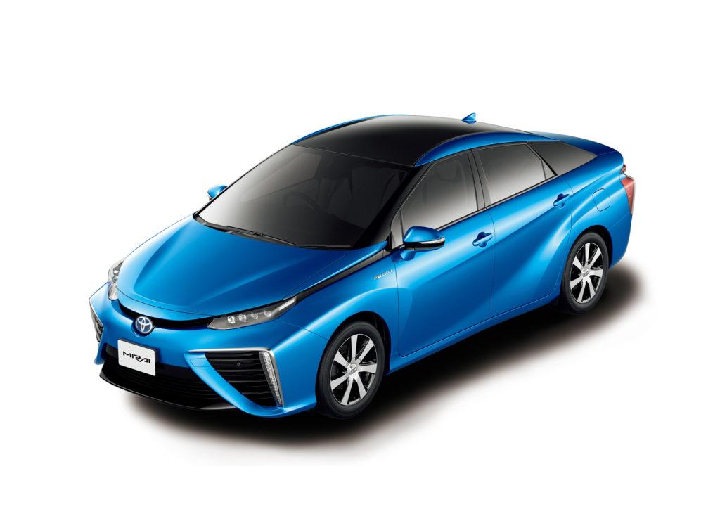 Toyota Mirai  - автомобиль использующий технологии водородных топливных элементов