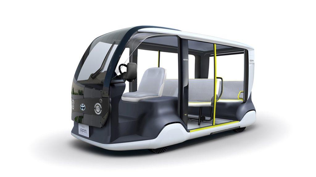 Toyota APM - компактный электрический микроавтобус
