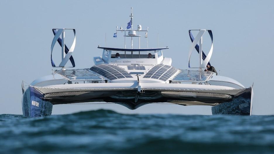 Energy Observer — первое в мире судно на водородных топливных элементах