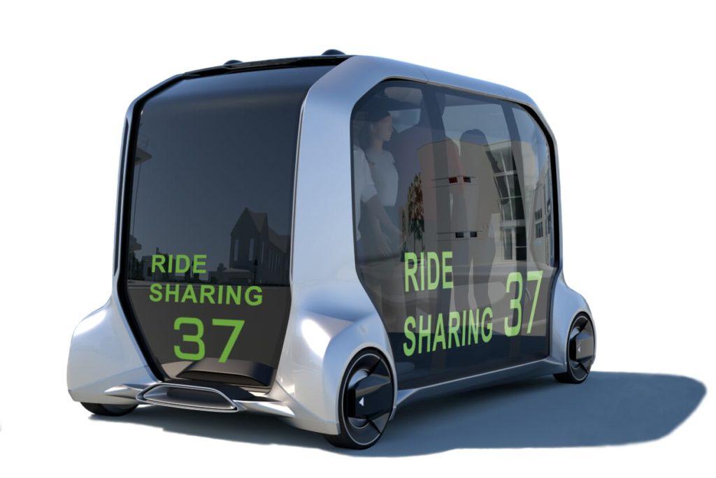 Toyota e-Palette - мобильный автономный шаттл