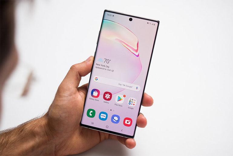 Samsung Galaxy Note 10+ первый обзор