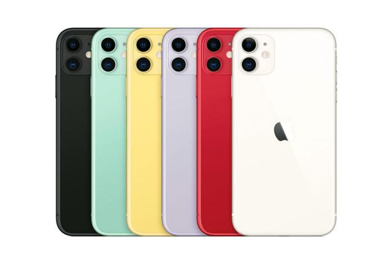 iPhone 11 — варианты расцветок