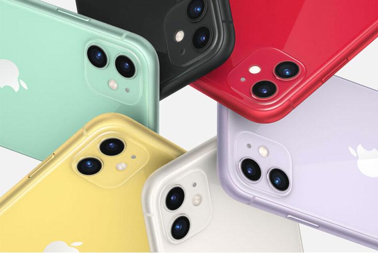 Варианты расцветок и камеры iPhone 11