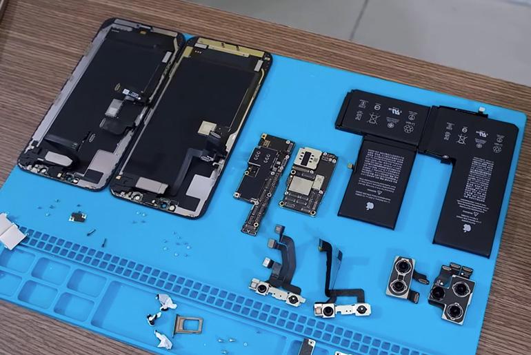 iPhone 11 Pro Max разобрали