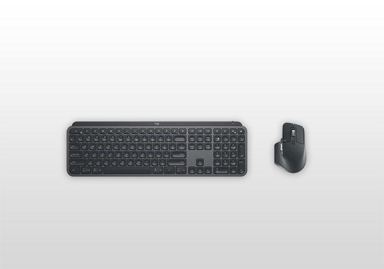 мышь Logitech MX Master 3 и клавиатура Logitech MX Keys