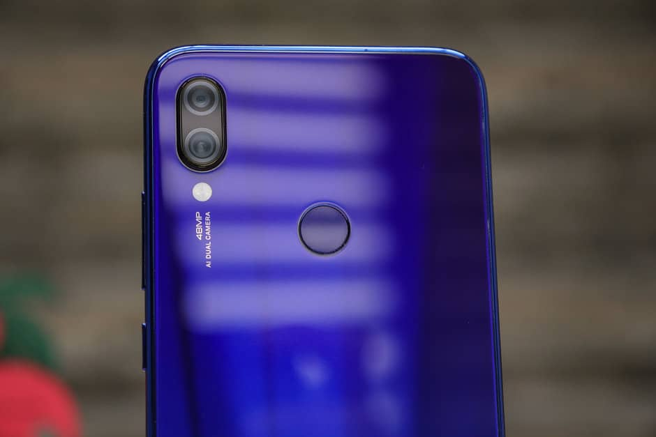 Xiaomi Redmi Note 7 задняя панель