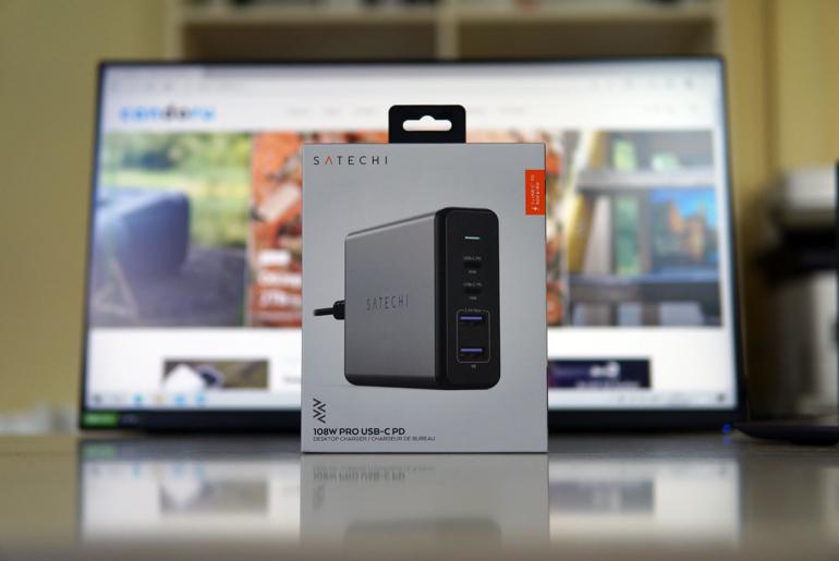 Satechi 108W PRO USB-C PD — зарядка, которую ты заслужил