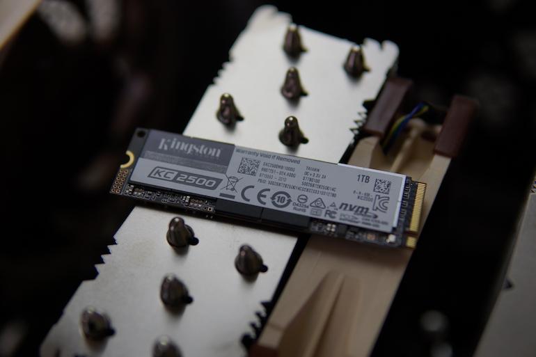 Обзор SSD-накопителя Kingston KC2500 NVMe PCIe 1000Gb — для всего