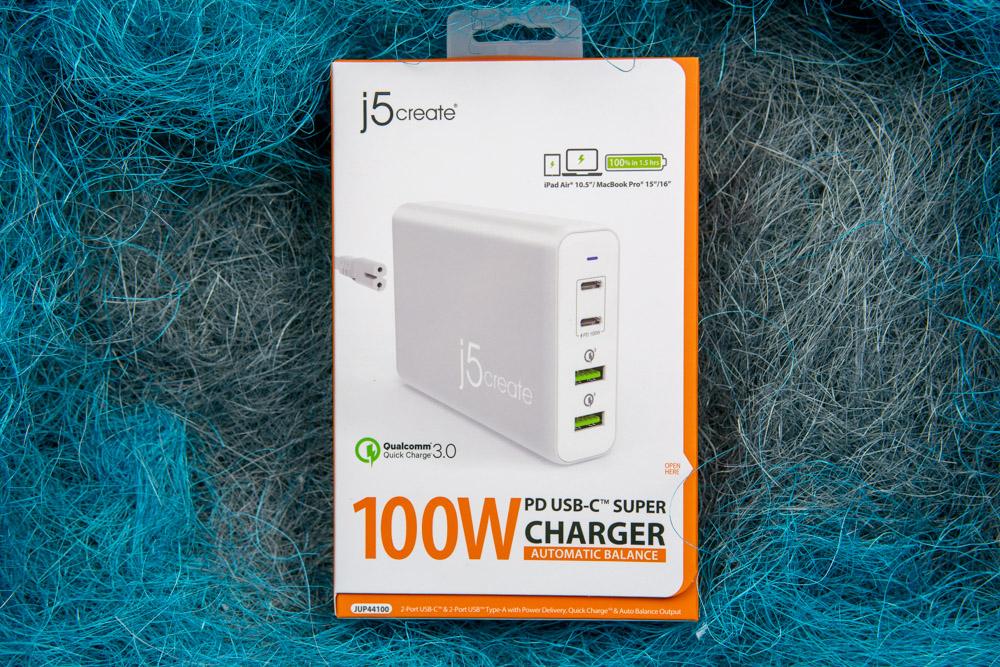 Зарядное устройство j5create на 100 Вт