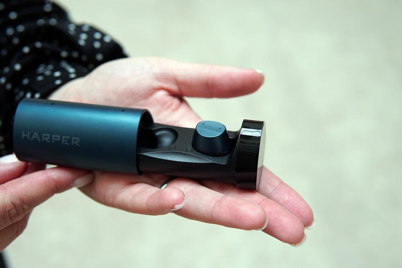 Обзор беспроводных наушников Harper HB-521