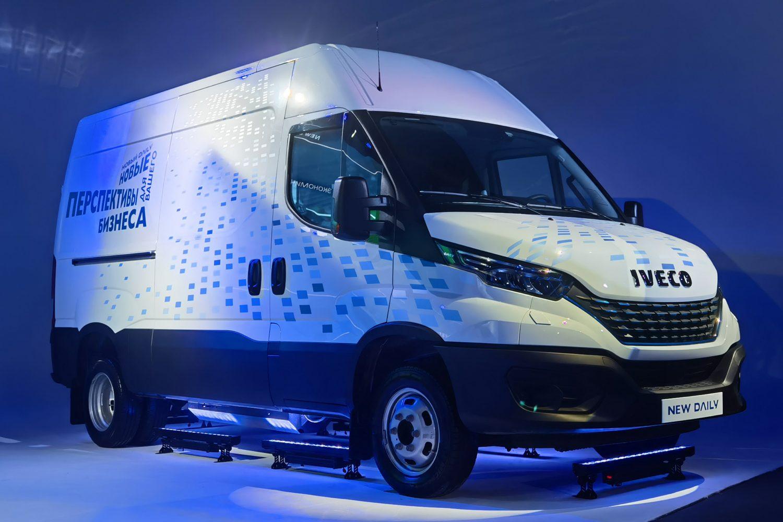 Автомобильная компания IVECO обновила свою популярную модель Daily