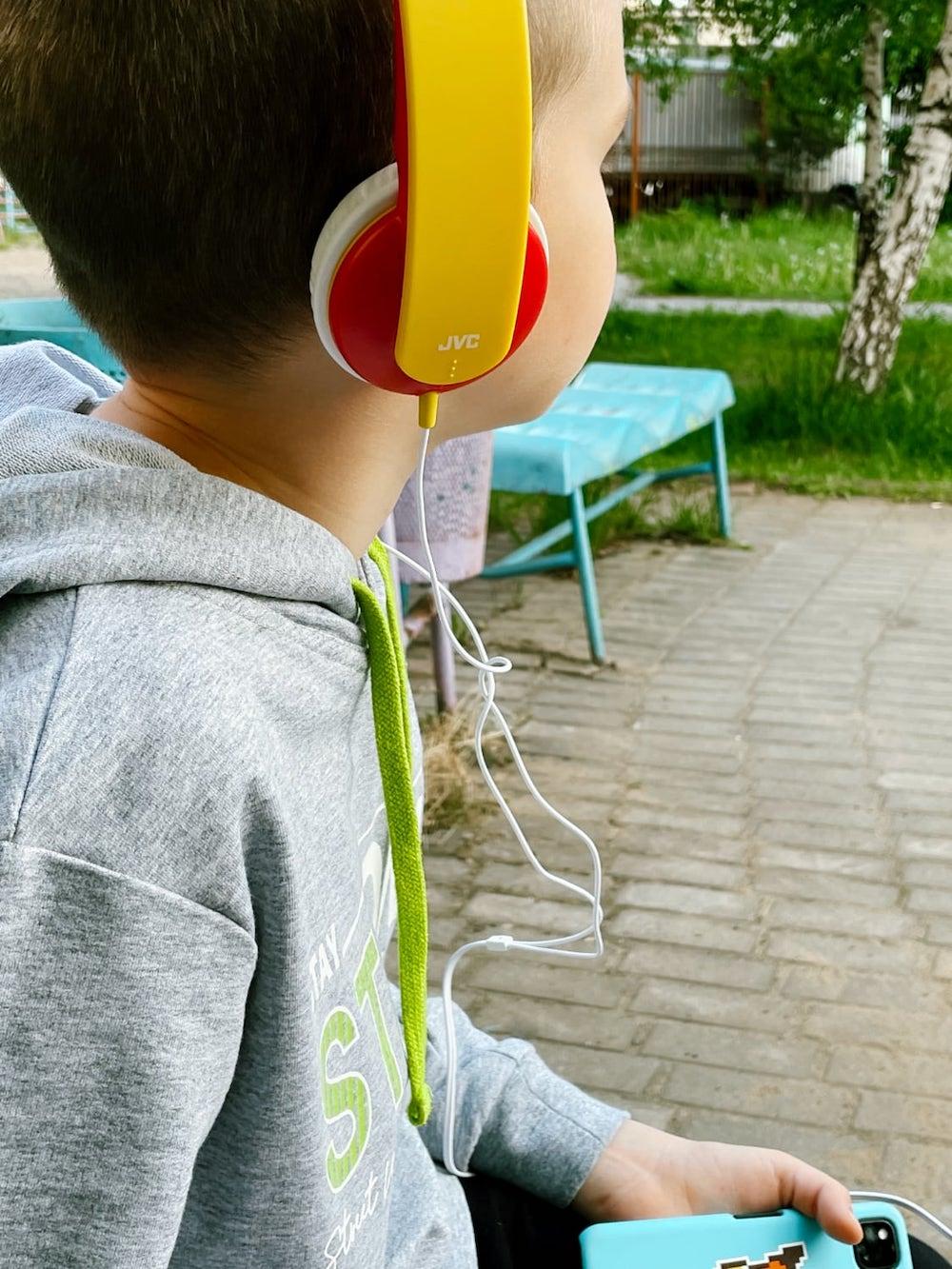 Детские наушники JVC Kids (HA-KD5-R)