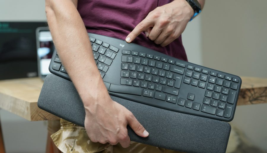 Обзор беспроводной клавиатуры Logitech ERGO K860 (920-010110) — эргономичная вкуснятина!