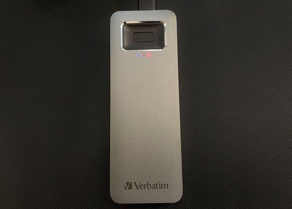 Обзор внешнего SSD Verbatim Executive Fingerprint Secure со сканером отпечатков пальцев