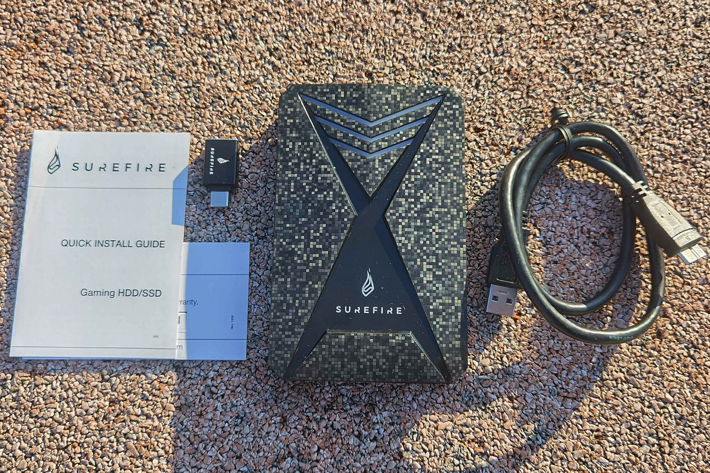 SureFire GX3 Gaming HDD – внешний винчестер для геймеров